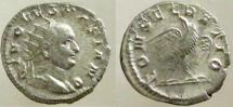 Ancient Coins - Vespasian. Died 79 AD. AR Antoninianus. Restitution issued under Trajan Decius.