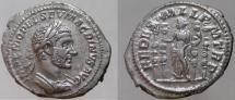 Ancient Coins - MACRINUS. 217-218 AD. AR Denarius, VERY RARE, NOT LISTED IN RIC.