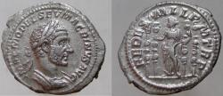 Ancient Coins - MACRINUS. 217-218 AD. AR Denarius, VERY RARE, NOT LISTED IN RIC.