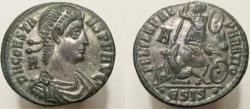 Ancient Coins - Constans. 337-350 AD. Æ-2, Near mint state, mostly silvered surfaces.