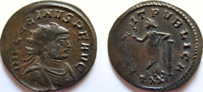 Ancient Coins - Carinus. 283-285 AD. Antoninianus. FELICIT PVBLICA.
