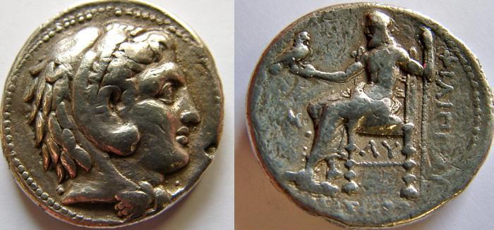 Ancient Coins - KINGS of MACEDON. Alexander III. 336-323 BC. AR Tetradrachm.