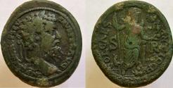 Ancient Coins - SEPTIMIUS SEVERUS, 193-211 AD. Æ 35mm, Mên.