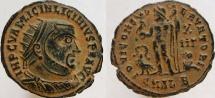 Ancient Coins - Licinius I. 308-324 AD. Æ Follis. Radiate head. SUPER eye appeal.