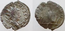 Ancient Coins - SALONINUS. as Caesar, 258-260 AD. AR Antoninianus. SUPER PORTRAIT with sharp details !