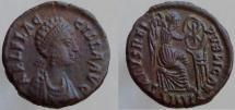 Aelia Flaccilla. Augusta, 379-386/8 AD. Æ. SALVS REIPVBLICAE