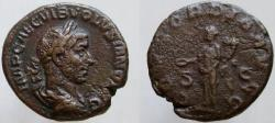 Ancient Coins - Volusian. 251-253 AD. Æ As. RARE denomination for Volusian.