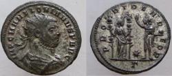 Ancient Coins - Florian. 276 AD. Antoninianus. VERY RARE, unlisted in RIC.  RIC on line has only 2.