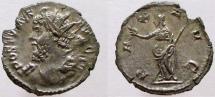Ancient Coins - Postumus. 260-269 AD. AR Antoninianus. Rare depiction as Hercules.