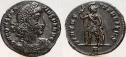 Ancient Coins - Constantius II. 337-361 AD. AR Miliarense. VIRTVS EXERCITVS.