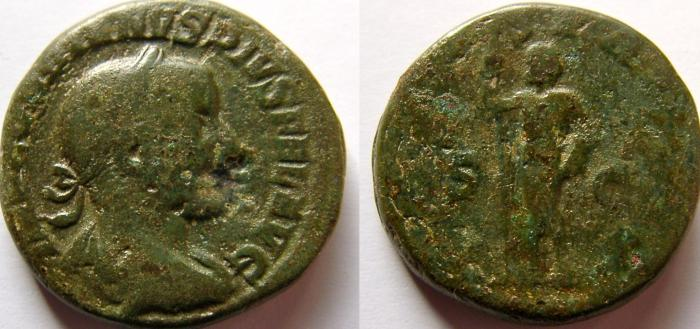 Ancient Coins - Gordian III. AD 238-244. Æ As.
