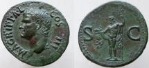 Ancient Coins - AGRIPPA. Died 12 BC. Æ As (30mm, 11.29g). Struck under Gaius (Caligula),