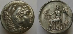 Ancient Coins - Alexander III. (The Great), THRACE, Odessos. Circa 225-200 BC. AR Tetradrachm.