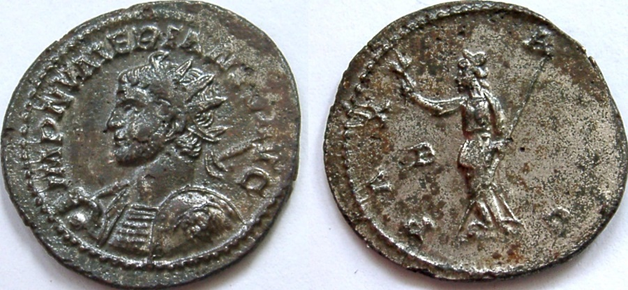 Ancient Coins - NUMERIAN, 283-284 AD. Antoninianus, bust left, holding sceptre and shield.