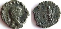 Ancient Coins - GALLIENUS. 253-268 AD. Æ Denarius. RARE denomination for Gallienus.