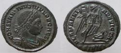 Ancient Coins - Constantine II. As Caesar, 316-337 AD. Æ Follis. ALAMANNIA DEVICTA.