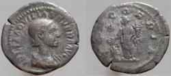 Ancient Coins - Aquilia Severa. Augusta, 220-221 & 221-222 AD. AR Denarius, CONCORDIA.