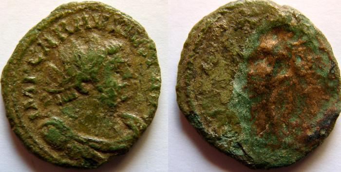 Ancient Coins - Carausius. Romano-British Emperor, 286-293 AD. Antoninianus