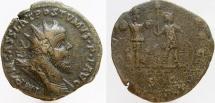 POSTUMUS. Romono-Gallic Emperor, 260-269 AD. Æ Double Sestertius. Ex CNG.