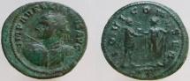 Ancient Coins - AURELIAN. 270-275 AD. Antoninianus. RARE bust type. Ex CNG 133.