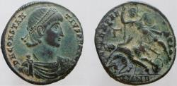 Ancient Coins - CONSTANTIUS II. 337-361 AD. Æ-2. Mint of Nicomedia. Excellent eye appeal.