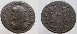 Ancient Coins - Tacitus. AD 275-276. Antoninianus. RARE bust left ! VERY RARE, unlisted in RIC !