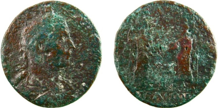 Ancient Coins - PHILIP I. Æ Medallion, 44mm, 48.8g.