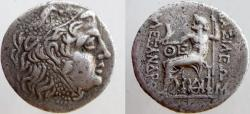 Ancient Coins - KINGS of MACEDON. Alexander III. Mint of Odessos. Civic issue, struck circa 125-70 BC.