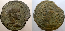 Ancient Coins - Aemilian. 253 AD. Æ. PISIDIA, Antiochia.