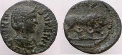 Ancient Coins - Cornelia Supera. Augusta, 253 AD. Æ-21mm. MYSIA, Parium.