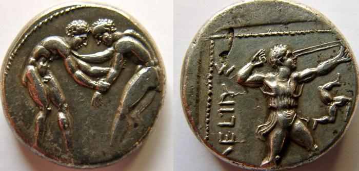 Ancient Coins - PISIDIA, Selge. Circa 370 BC. AR Stater.  CHOICE COIN.