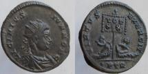 Ancient Coins - LICINIUS II, Caesar. 317-324 AD. Æ Follis. Radiate head. RARE; Rated R-4 !