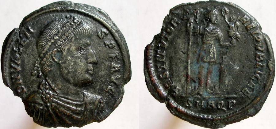 VALENS. 364-378, AE 1/ Double maiorina, VERY RARE and Missing from most  collections.