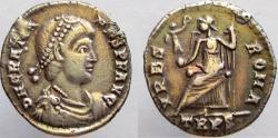 Ancient Coins - GRATIAN. AR Siliqua. Mint of Trier.
