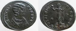 Ancient Coins - GALERIA VALERIA, wife of Galerius. Æ Follis. Mint of Thessalonica. Struck on a broad flan.