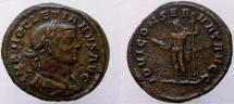 Ancient Coins - Diocletian. 284-305 AD. Æ Reduced Sestertius. EXTREMELY RARE !!