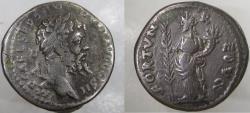 Ancient Coins - Septimius Severus. 193-211 AD. AR Denarius. mint of Emesa. SCARCE.