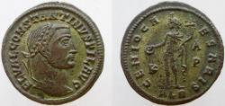 "Ancient Coins - Constantine I. As ""Filius Augustorum"",  Rare issue as FIL AVG."