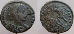 Ancient Coins - Constantius II. 337-361 AD. Æ-2. SUPER details and sharp strike, struck from fresh dies.