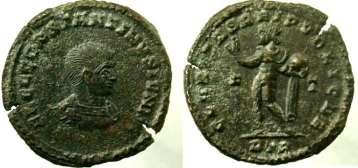 Ancient Coins - Constantine II, As Caesar, AD 317-337, CLARITAS REIPVBLICAE