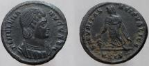Ancient Coins - Helena. Augusta, 324-328/30 AD. Æ Follis. Mint of Siscia; RARE - rated R-1.