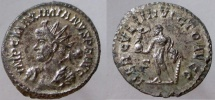 Ancient Coins - Maximianus. 286-305 AD. Antoninianus. Heroic bust left, wearing lion skin and holding club.