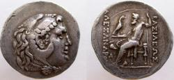 Ancient Coins - Alexander III 'the Great'. 336-323 BC. Tetradrachm. Scarcer mint of Messembria.