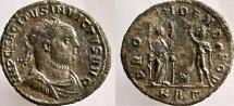 Ancient Coins - TACITUS. 275-276 AD. Antoninianus, RARE with INVICTUS.