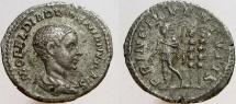 Ancient Coins - DIADUMENIAN, As Caesar, 217-218 AD. AR Denarius, PRINC IVVENTVTIS.