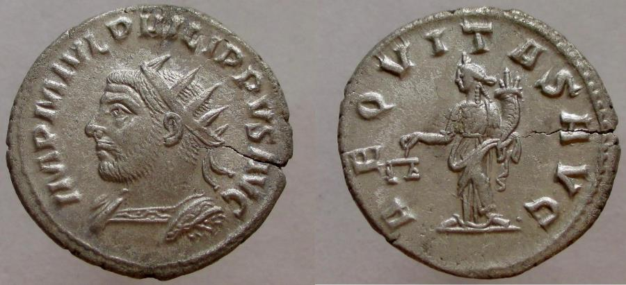 Ancient Coins - Philip I. 244-249 AD. AR Antoninianus, RARE with AVG rather than AVGG on reverse.
