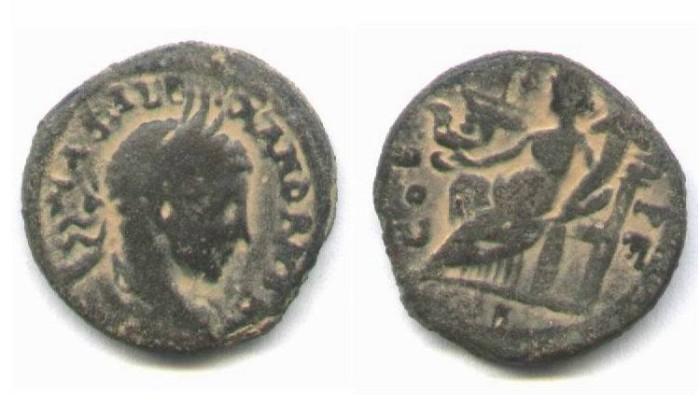 Ancient Coins - Severus Alexander. Aelia Captolina (222-235 A.D)