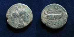 Ancient Coins - Phoenicia AE20mm, Sidon, Galley