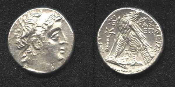 Ancient Coins - Seleucid Kingdom Demetrius II, AR20mm