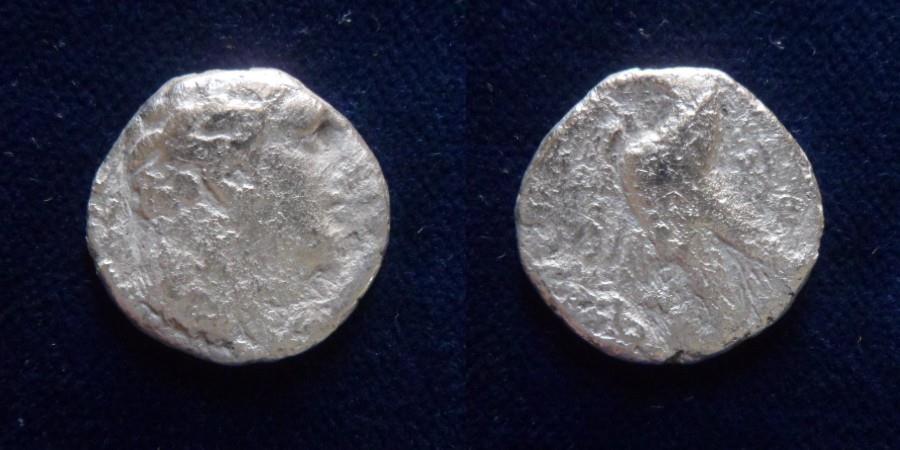 Ancient Coins - PHOENICIA, Tyre. 126/5 BC-AD 65/6. AR Half Shekel.